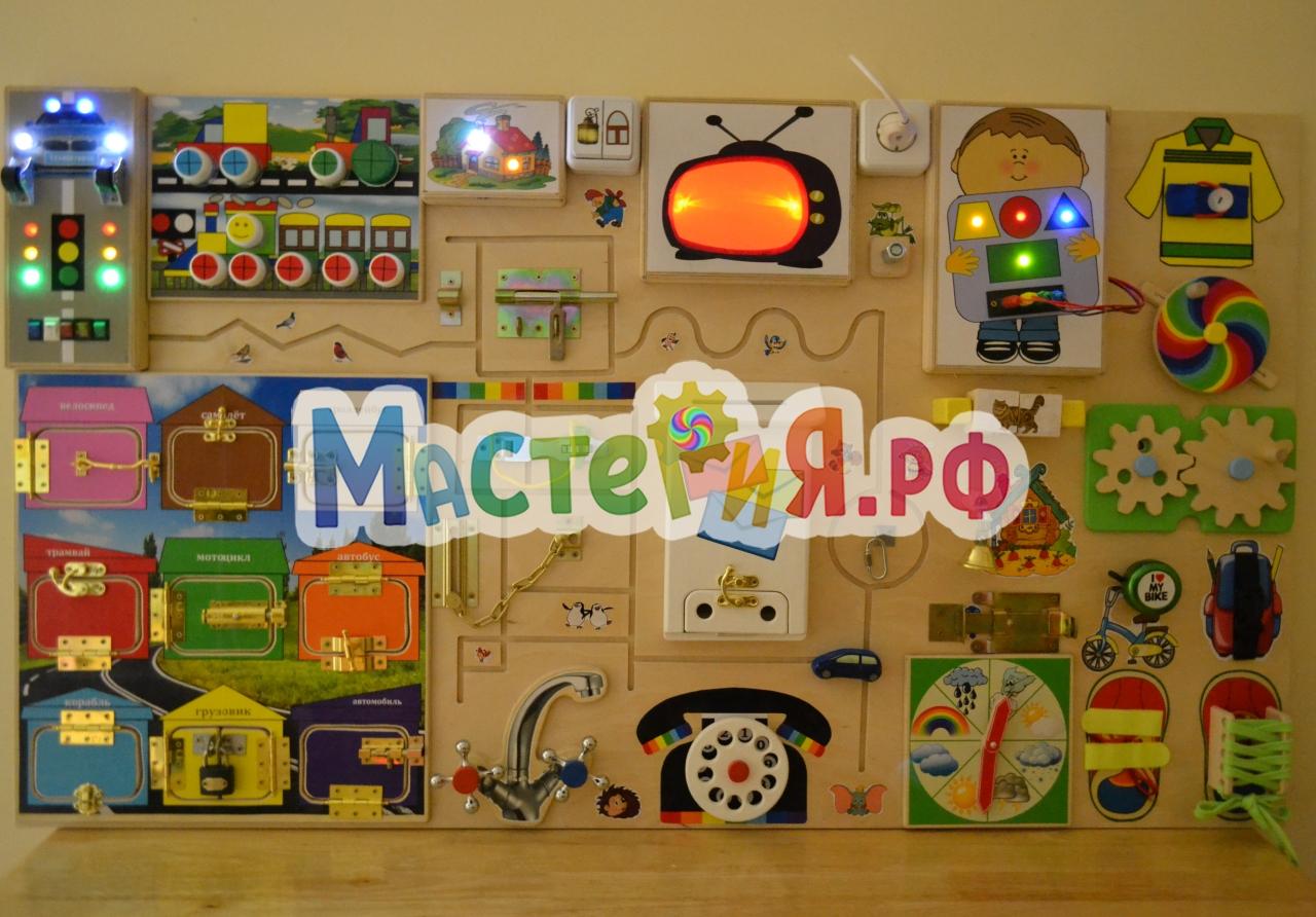 Своими руками детям игровая панель